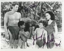 Johnny Sheffield signed movie photo