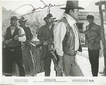 Rio Lobo John Wayne signed movie photo
