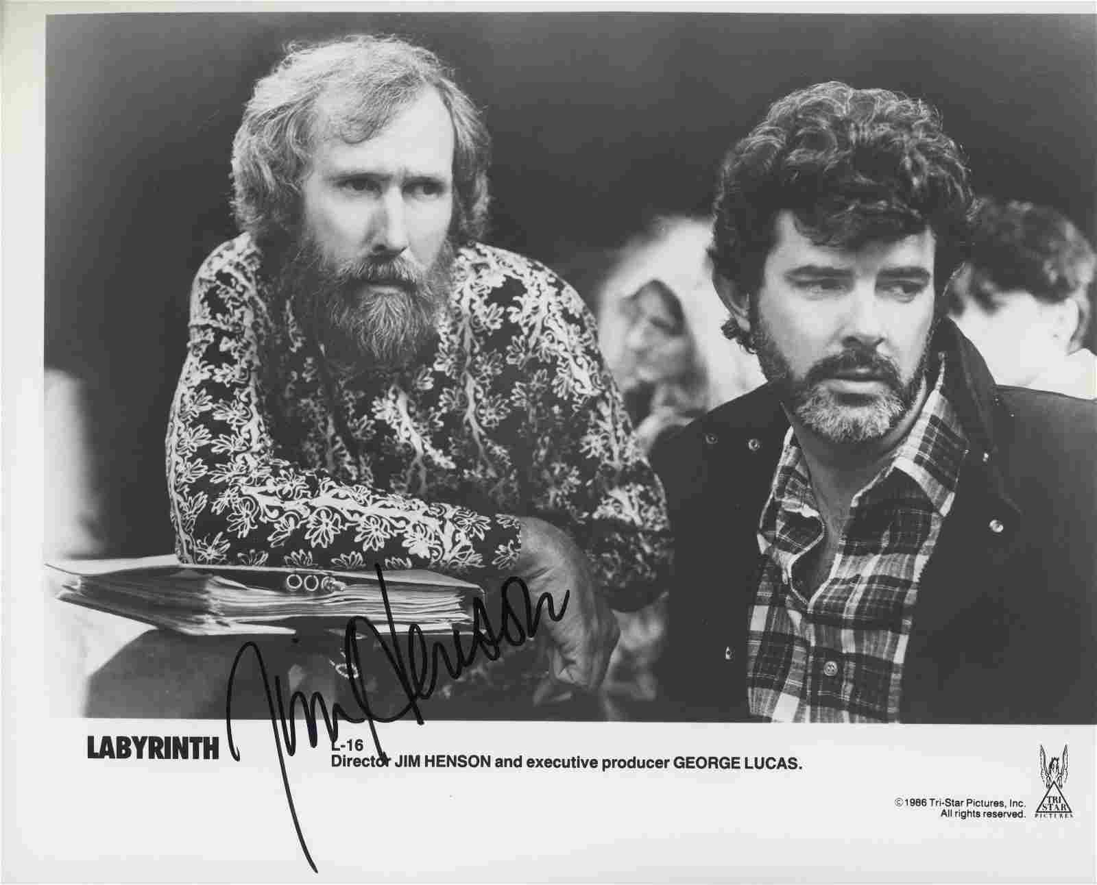 """Jim Henson""""The Muppets"""" signed photo"""