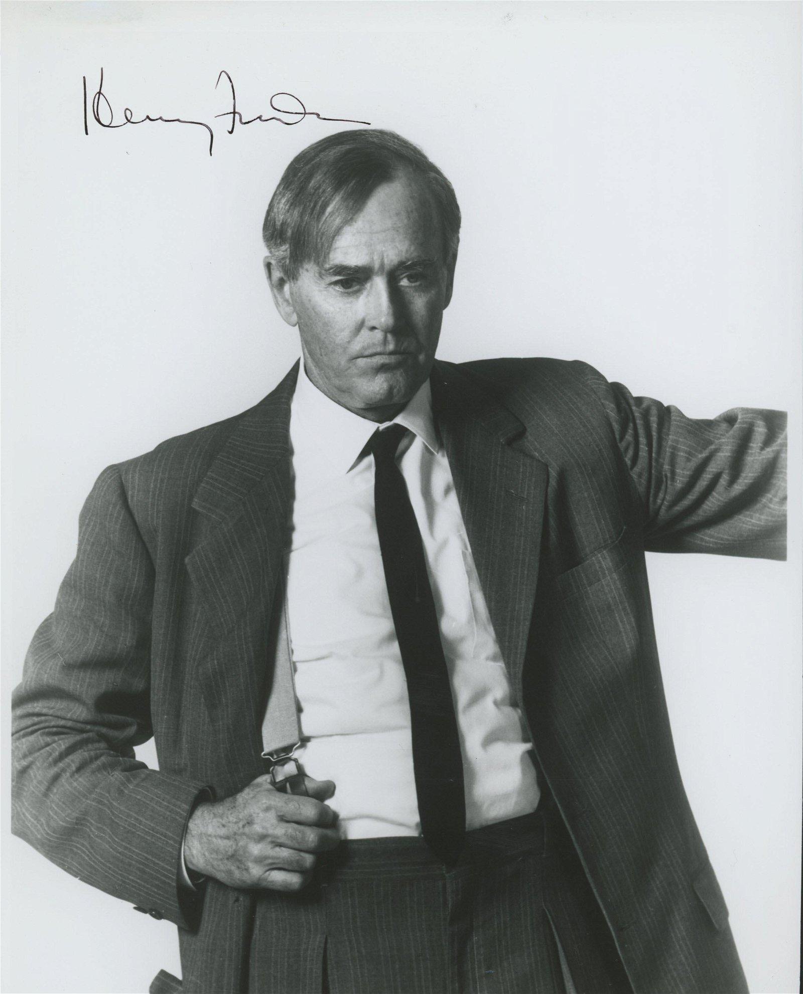 Henry Fonda signed photo