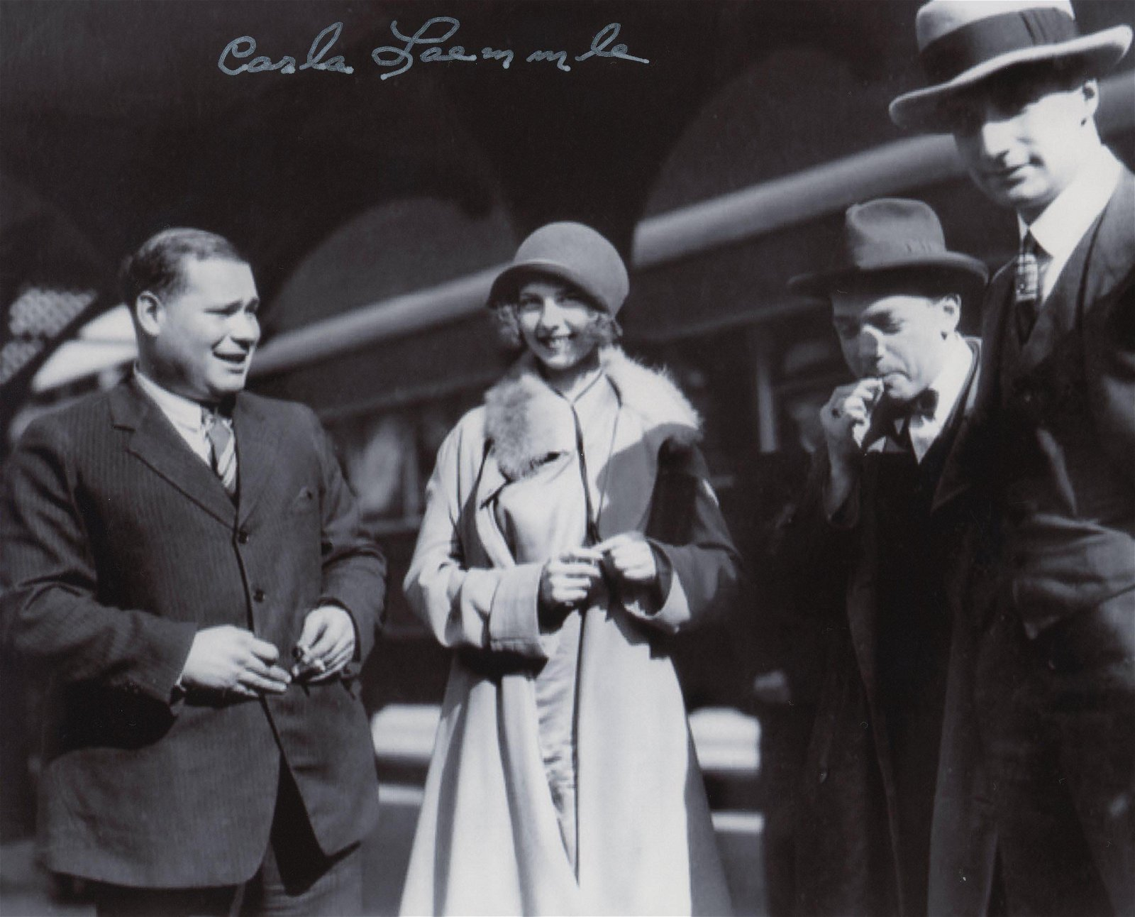 Carla Laemmle signed photo