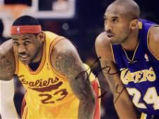Kobe Bryant signed photo