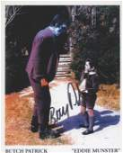 The Munsters Butch Patrick signed photoc