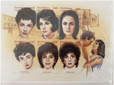 Cleopatra Elizabeth Taylor Stamp Sheet