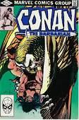Conan The Barbarian Marvel Comic Book 135