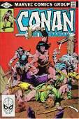 Conan The Barbarian Marvel Comic Book 137