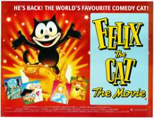 Felix the Cat The Movie 1989 original vintage one