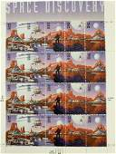 USPS Space Discovery  Sheet of Twenty 32 Cent Stamps