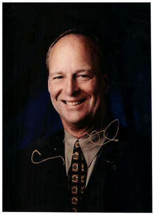 Pittsburgh Penguins Craig Patrick signed photo