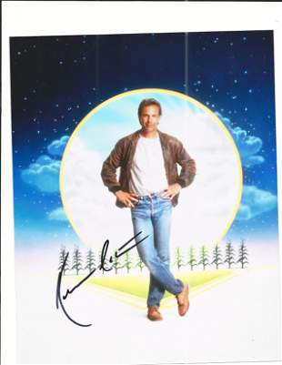 Field of Dreams Kevin Costner signed movie photo