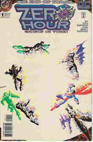 Zero Hour: Crisis in Time! DC Comic Book #1