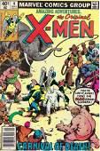 Amazing Adventures The Original X-Men Marvel Comic Book