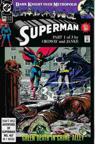 Superman DC Comic Book #44