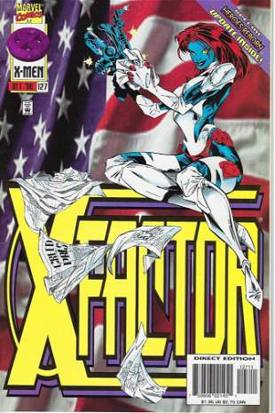 X-Factor Marvel Comic Book #127