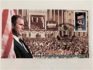 George W Bush First Day Cover
