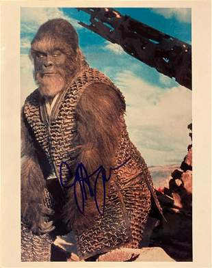 Planet of the Apes Cary-Hiroyuki Tagawa signed movie