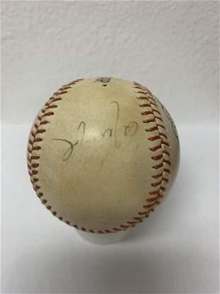 NY Mets signed baseball