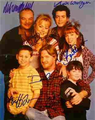 Grounded for Life cast signed photo