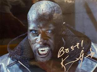 Underworld Kevin Grevioux signed movie photo