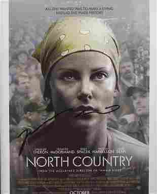 North Country Niki Caro signed movie poster