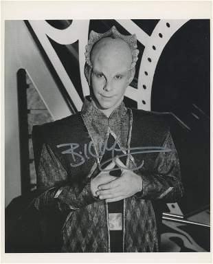 Star Trek: Deep Space Nine Bill Mumy signed photo