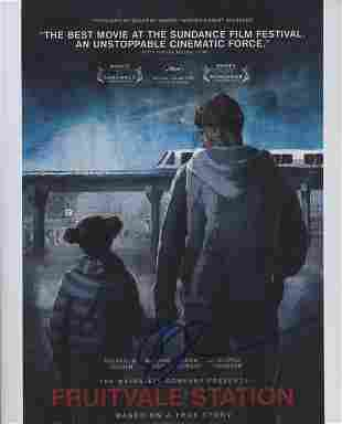 Fruitvale Station Ryan Googler signed movie poster