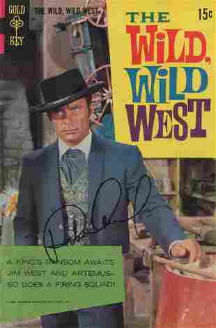 "Robert Conrad signed ""The Wild Wild West"" (Gold Key)"