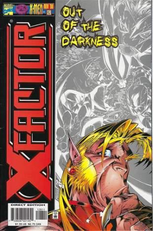 X-Factor Marvel Comic Book #128