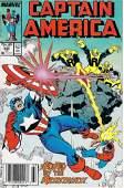 Captain America Marvel Comic Book #343