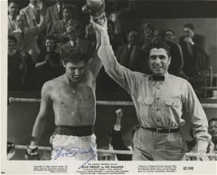 """Elvis Presley signed """"Kid Galahad"""" movie photo"""