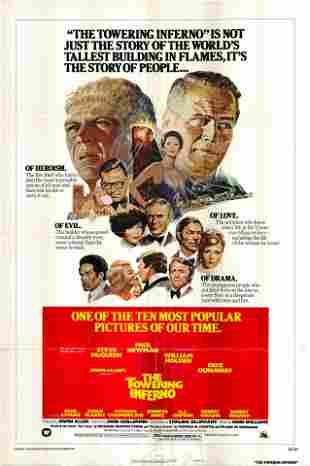 The Towering Inferno original 1974 vintage movie poster