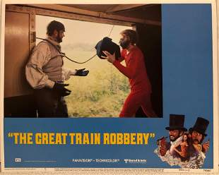 The Great Train Robbery original 1979 vintage lobby