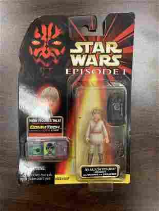 Star Wars unsigned Anakin Skywalker action figure