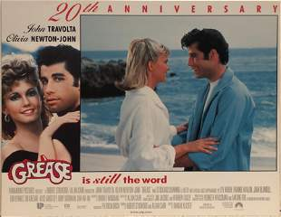 Grease 20th Anniversary original 1998R vintage lobby