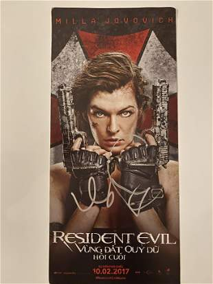 Resident Evil (Vietnamese Version) Milla Jovovich