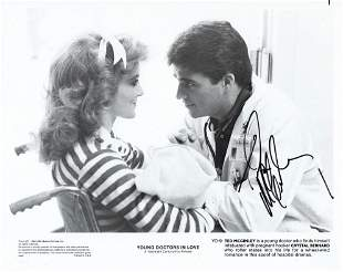 Young Doctors in Love Ted McGinley signed movie photo