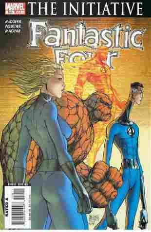 Fantastic Four Marvel Comic Book #550