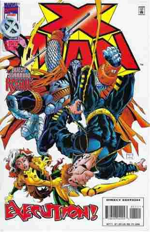 X-Man Marvel Comic Book #11