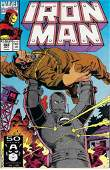 Iron Man Marvel Comic Book #268