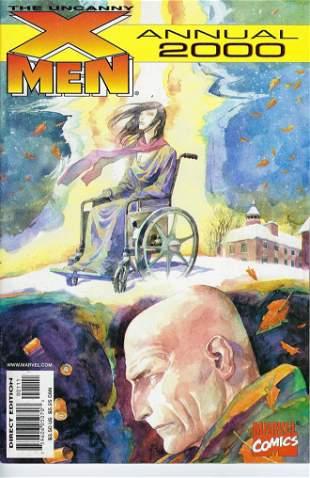The Uncanny X-Men Annual Marvel Comic Book #2000