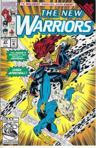 The New Warriors Marvel Comic Book #27