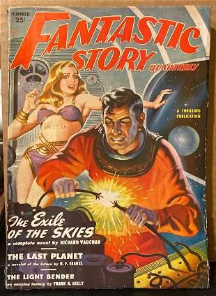 Fantastic Story Quarterly Summer 1950 original vintage