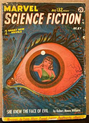 Marvel Science Fiction [Marvel Science Stories]