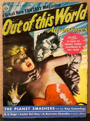 Out of This World Adventures original 1950/07 vintage