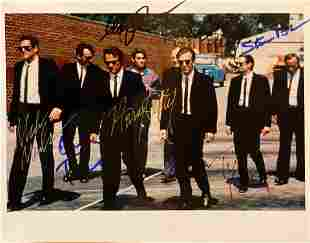 Reservoir Dogs cast signed movie photo