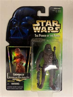 Star Wars Chewbacca collectible action figure