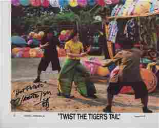 Twist The Tiger's Tail signed movie photo