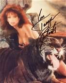 Tanya Roberts signed photo