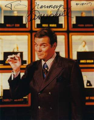 Peter Marshall signed photo