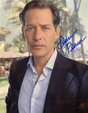 James Remar signed photo